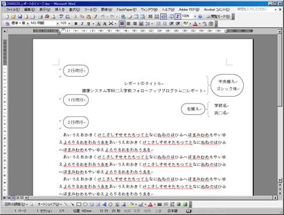 情報リテラシ実習 - KAWANO's PukiWiki Plus!